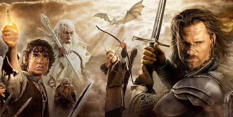 Amazon y Warner Bros planean una serie de El señor de los anillos