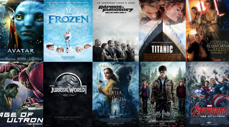 Conoce las 10 principales películas que superaron los mil millones de dólares en taquilla