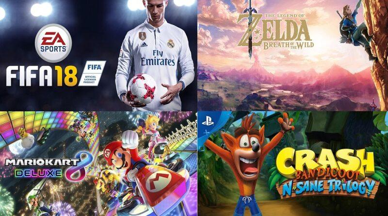 Conoce los 12 mejores videojuegos para Playstation y Nintendo del 2017