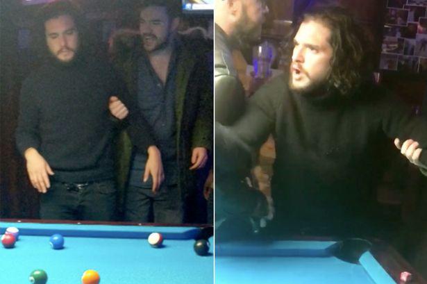 El escándalo que armó Kit Harington en un bar tuvo un final feliz
