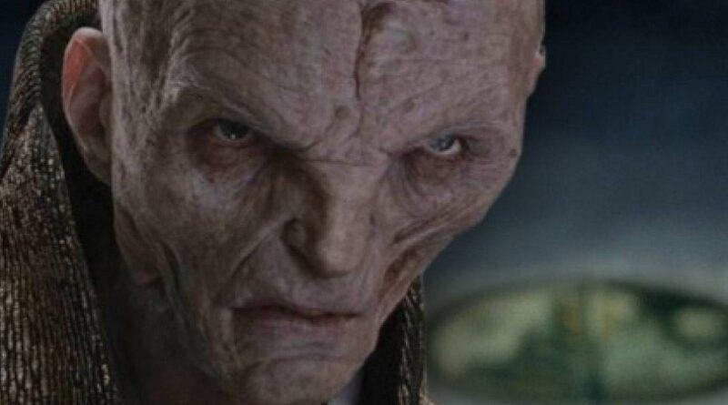01 Así se ve Snoke, el villano de Star Wars, sin CGI