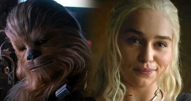 Emilia Clarke intenta imitar a Chewbacca y estalla de risa