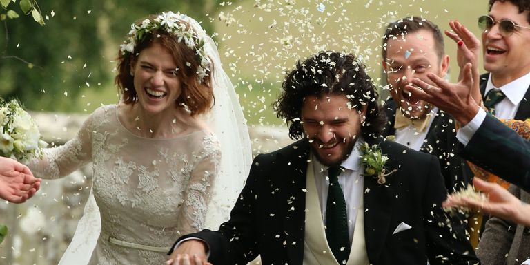 02 Asi fue la boda entre Kit Harington Jon Snow y Rose Leslie Ygritte Video