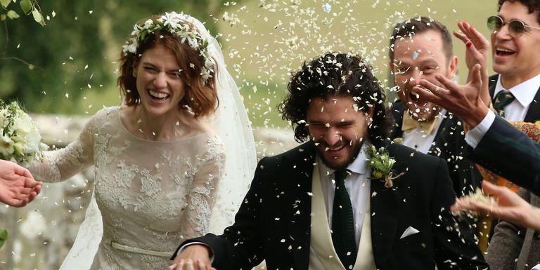 02 Asi fue la boda entre Kit Harington Jon Snow y Rose Leslie Ygritte Video