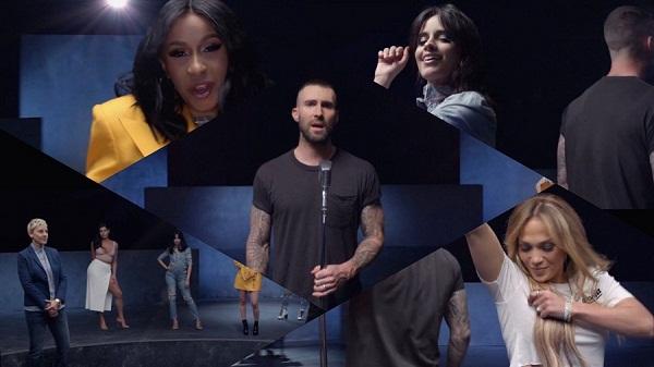 Gal Gadot y Millie Bobby Brown en el nuevo videoclip de Adam Levine