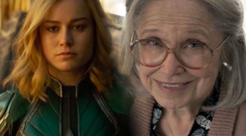 ¿De verdad Capitana Marvel golpea a una adorable abuelita