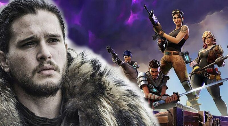 Jon Snow (Game of Thrones), se acerca al mundo de 'Fortnite' gracias a un usuario
