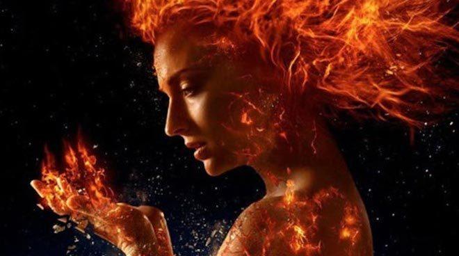01 X Men Dark Phoenix Revelan fotos de Jessica Chastain y Sophie Turner en plena pelea