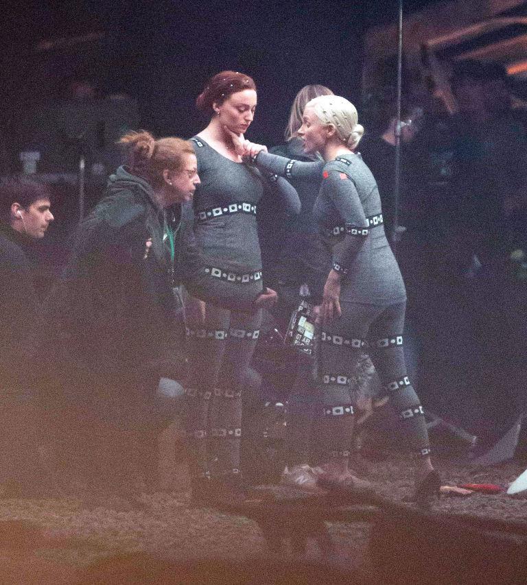 03 X Men Dark Phoenix Revelan fotos de Jessica Chastain y Sophie Turner en plena pelea