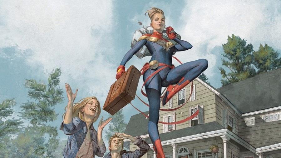 01 Marvel Comics Revelan el verdadero origen de la Capitana Marvel