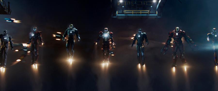 02 Iron Man Todos los exoesqueletos que Tony Stark ha fabricado en el UCM
