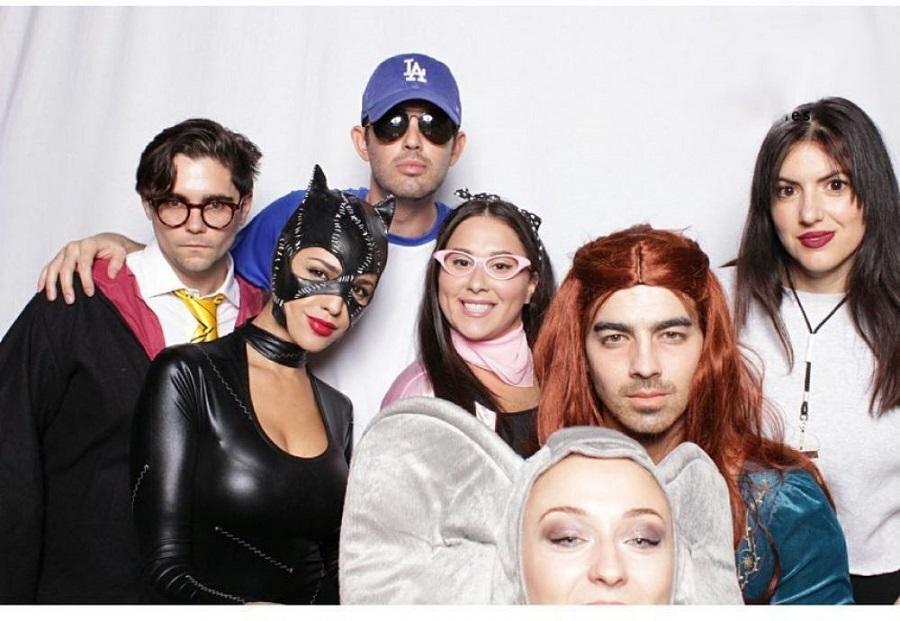 02 Joe Jonas hace cosplay de Sansa Stark por Halloween vídeo