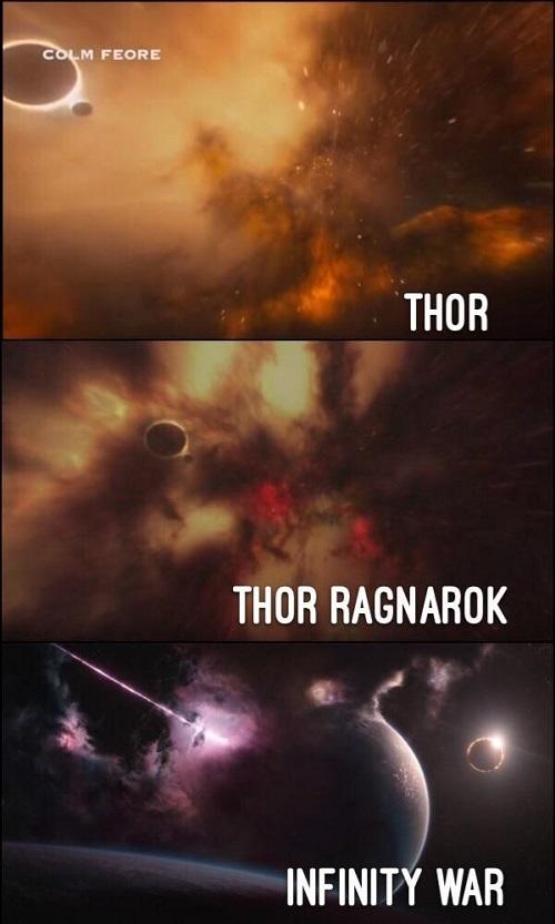 02 Marvel habria mostrado en Thor la ubicacion de la Gema del Infinito