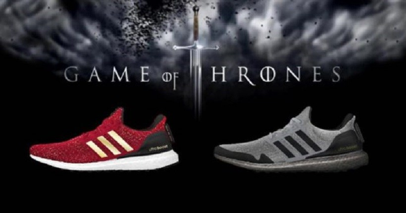 'Game of Thrones' Adidas muestra la zapatilla inspirada en la serie