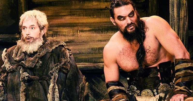 "Jason Momoa ""revive"" a Khal Drogo para 'Saturday Night Live'"