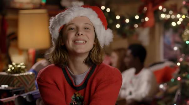 'Stranger Things' Las estrellas de la serie desean Feliz Navidad a todos
