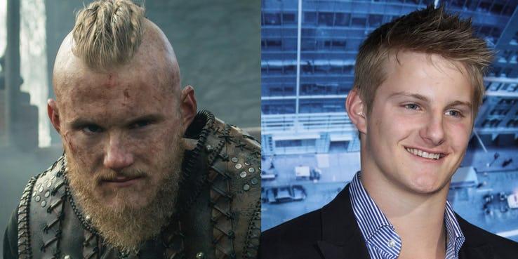 03 Vikings los actores en la ficcion vs realidad