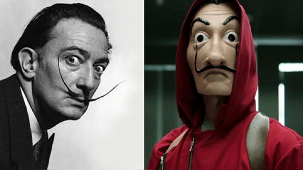 02 La Casa de Papel Fundación Salvador Dali anuncia demanda contra la serie