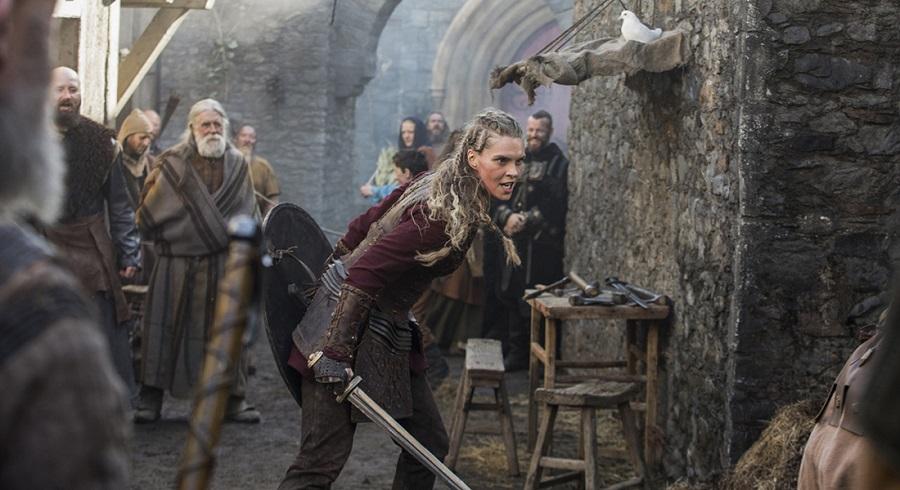 03 Actriz de Vikings describe el final de la sexta temporada