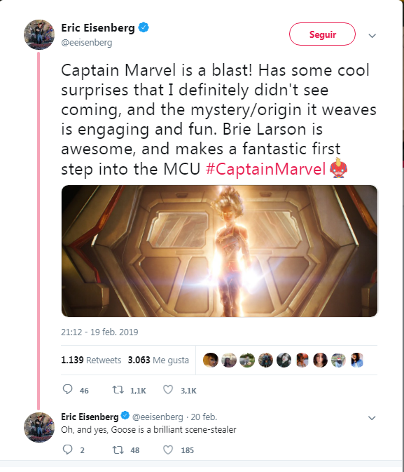 02 Capitana Marvel tendra escenas post creditos
