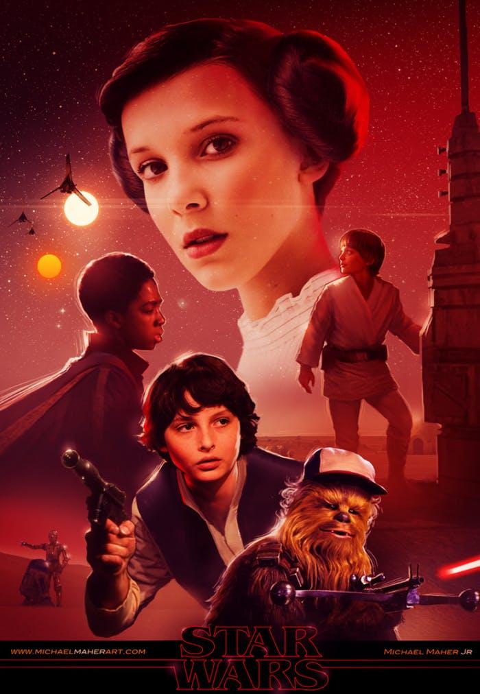 02 Millie Bobby Brown seria la princesa Leia