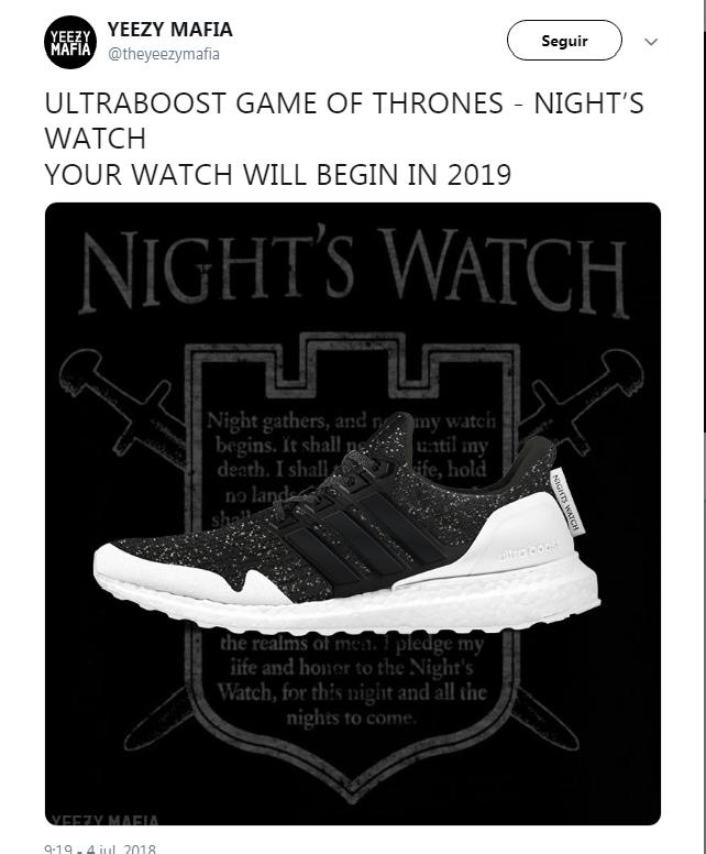 05 Adidas lanza linea de zapatillas inspirada em Juego de Tronos