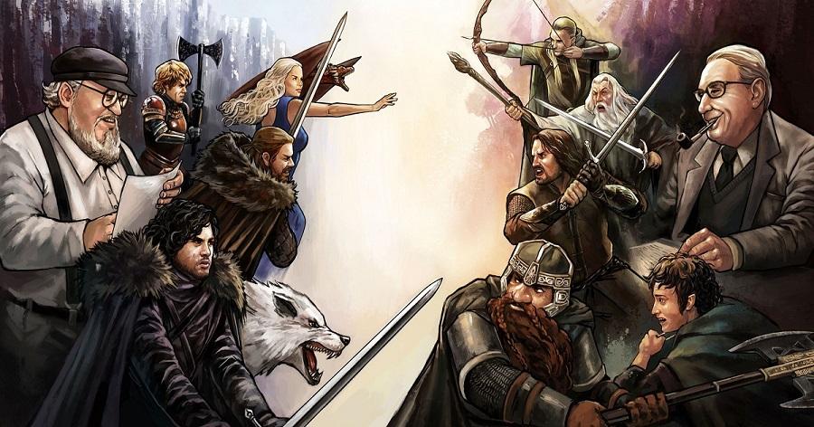 Similitudes entre Juego de Tronos y El señor de los Anillos