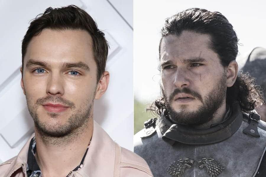 ¡Por poco! Nicholas Hoult casi interpreta al personaje de Jon Snow en Juego de Tronos