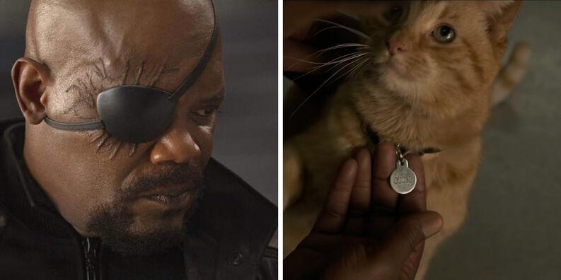 Capitana Marvel: Directores consideraron otras versiones de cómo Nick Fury pierde su vista