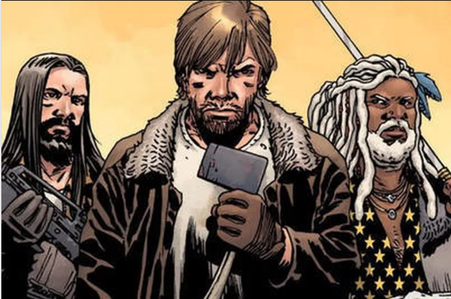 Creador del cómic The Walking Dead elimina al protagonista