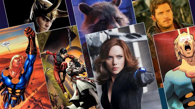 Lo que sabemos sobre Viuda negra, Los Eternos y la Fase 4 de Marvel