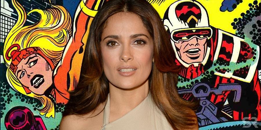 Salma Hayek negocia con Marvel para sumarse a The Eternals
