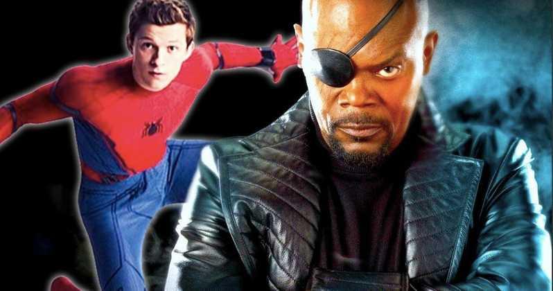 Samuel Jackson indignado con error en SpiderMan y su personaje