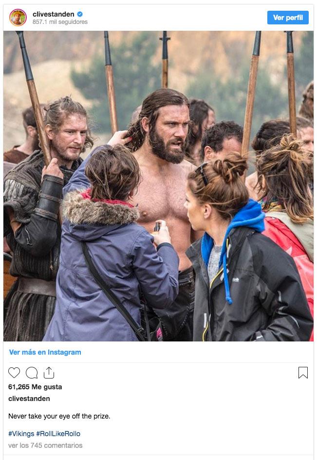 Vikings: Clive Standen comparte fotografías de la primera temporada