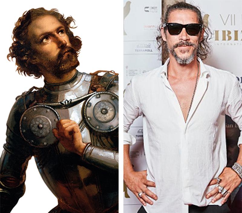 Actor Óscar Jaenada será Hernán Cortés en serie de Amazon Prime