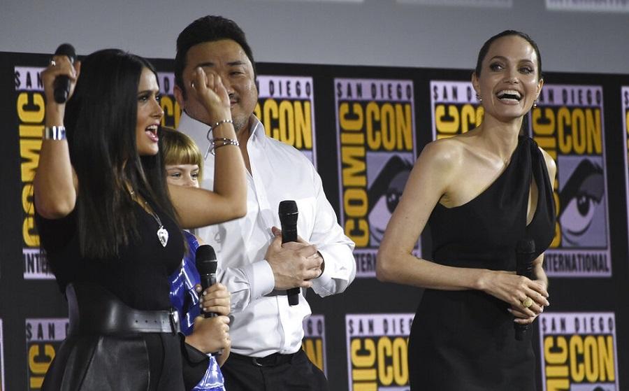 "Angelina Jolie y Salma Hayek se unen a ""The Eternals"" de Marvel"
