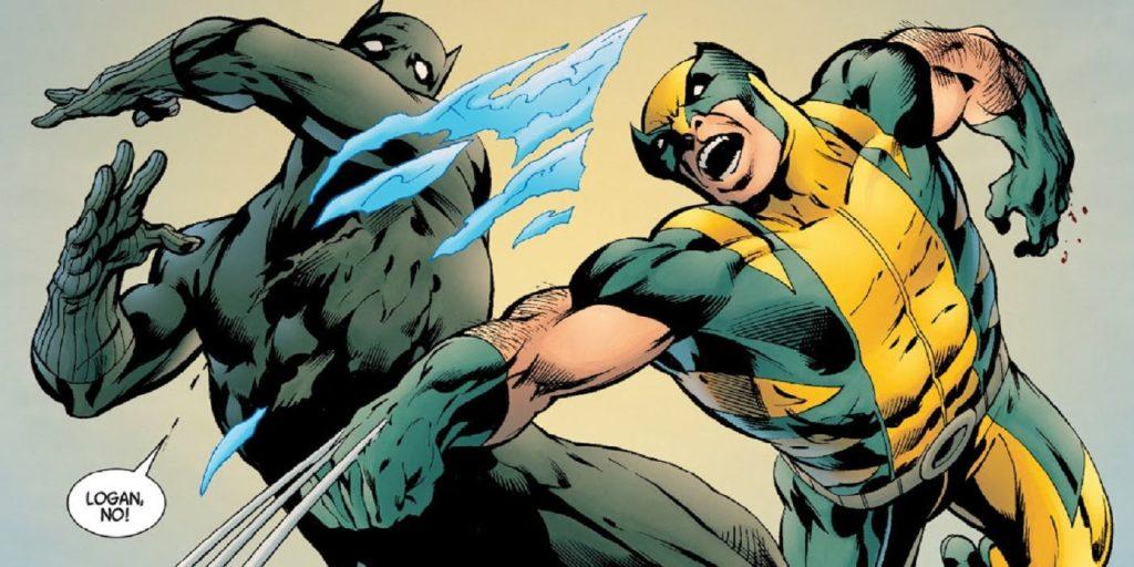 Cuál es más fuerte Adamantium de Wolverine o Vibranium de Black