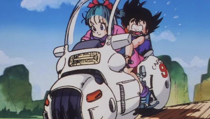 Dragon Ball: Construyen réplica de la moto que Bulma usaba