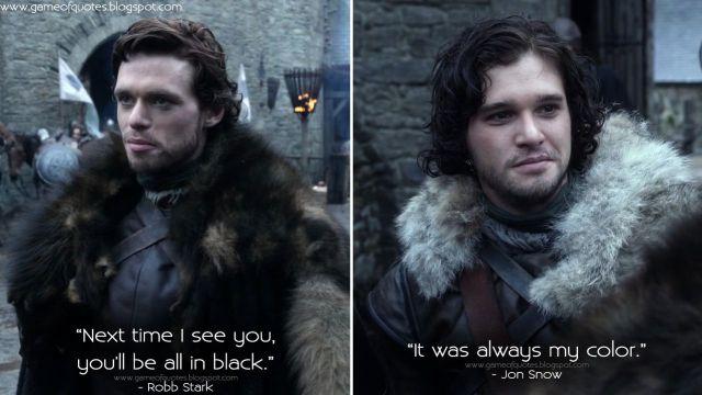 Predicción de Robb Stark en Juego de Tronos que se volvió realidad