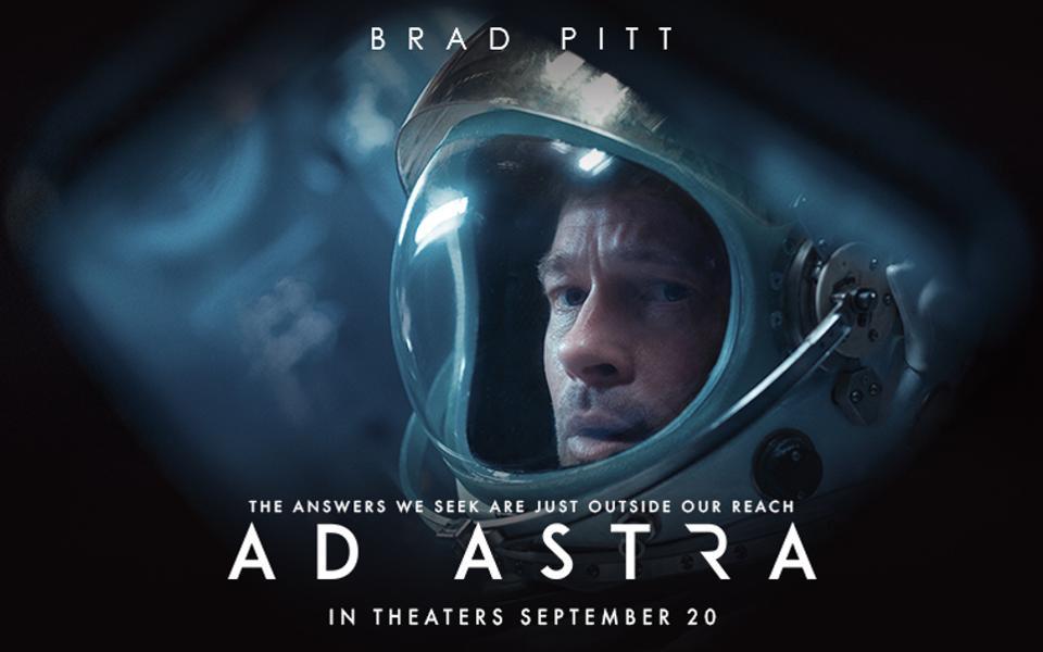 Ad Astra la nueva película protagonizada por Brad Pitt