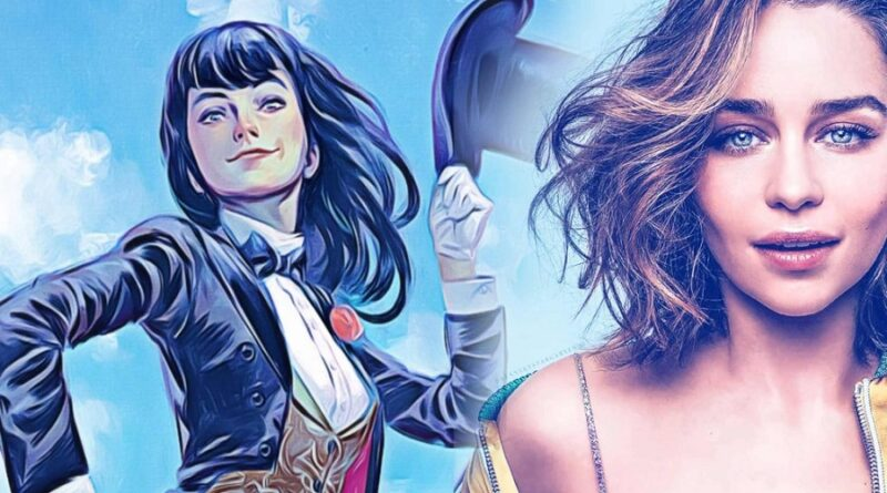 Emilia Clarke candidata para interpretar a Zatanna en el DCEU