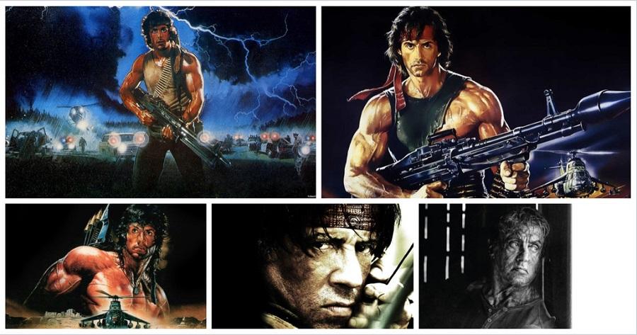 John Rambo: Evolución del personaje de Sylvester Stallone