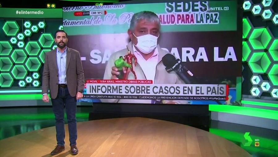 Ministro boliviano explica el coronavirus comparándolo con Thanos
